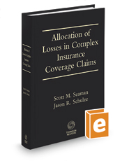 Hinshaw & Culbertson Allocation of Losses in Complex Insurance Coverage Claims