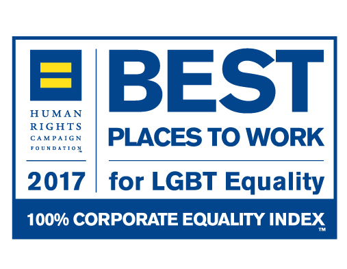 Perfect Score on the 2017 Corporate Equality Index