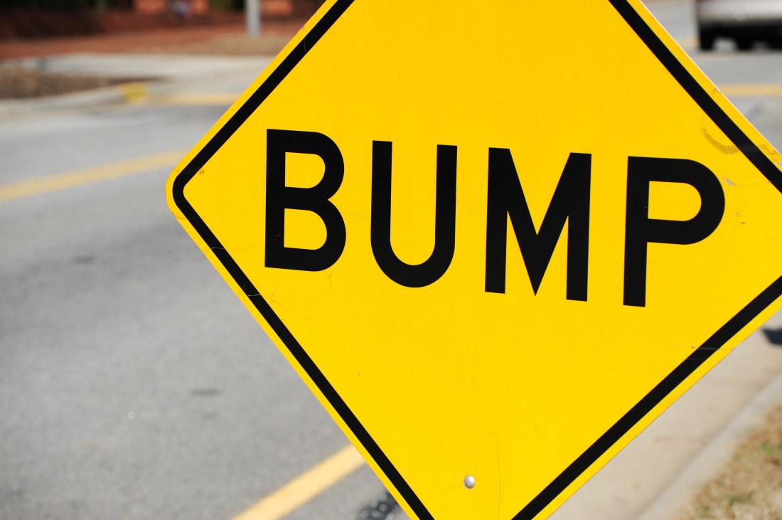Bump Road Sign