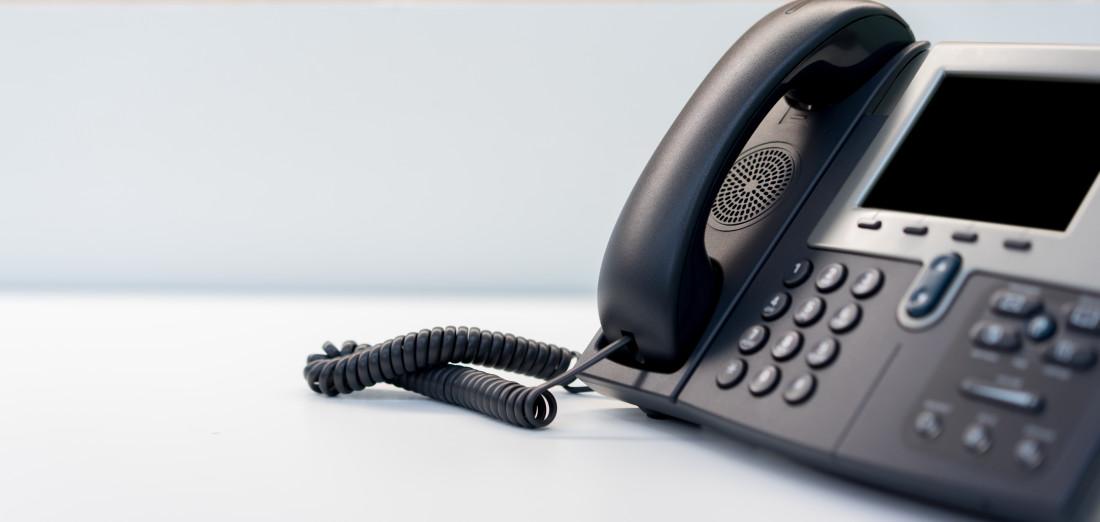 Photo of telephone