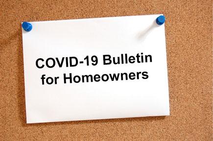 COVID-19 Bulletin Board