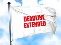 Deadline Extended Flag