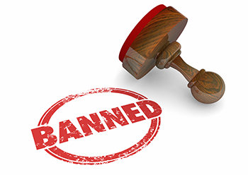Image of Banned Stamp