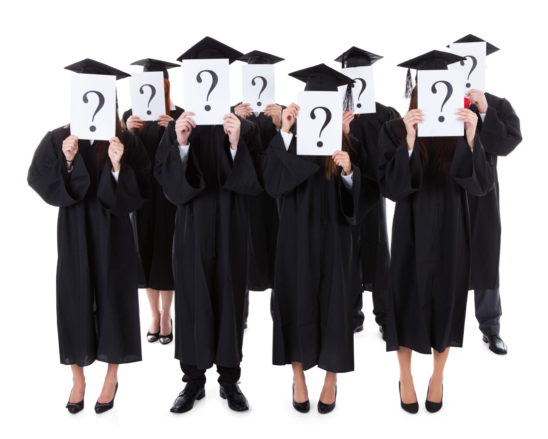 Graduates with Questions