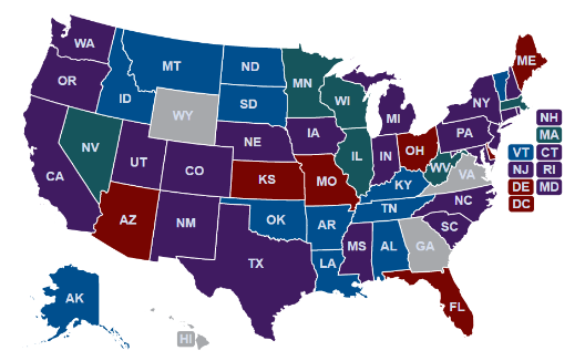 Interactive Tracker of State Regulations Related to COVID-19