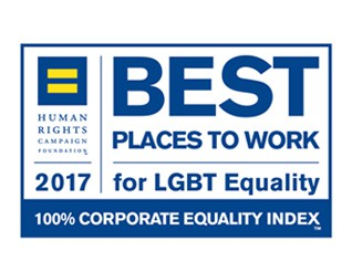 Hinshaw Achieves Perfect Score on the 2017 Corporate Equality Index
