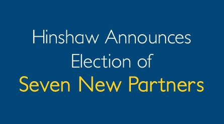 Election of Seven New Partners Announced